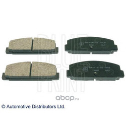 Комплект тормозных колодок, дисковый тормоз (Blue Print) ADM54248