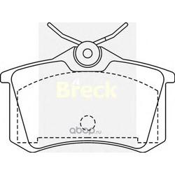 Комплект тормозных колодок, дисковый тормоз (BRECK) 209611070400
