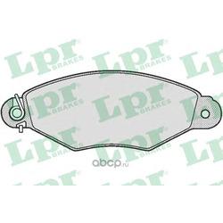 Комплект тормозных колодок, дисковый тормоз (Lpr) 05P662