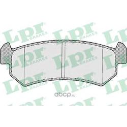 Комплект тормозных колодок, дисковый тормоз (Lpr) 05P1199