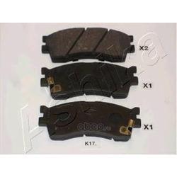 Комплект тормозных колодок, дисковый тормоз (Ashika) 50K0017