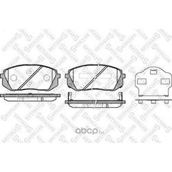 Комплект тормозных колодок (Stellox) 002010SX