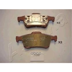 Комплект тормозных колодок, дисковый тормоз (Ashika) 5101138