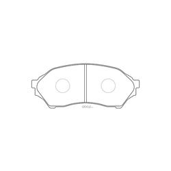 Колодки тормозные дисковые (FIT) FP0798
