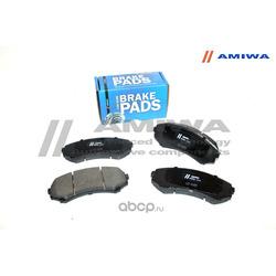 КОЛОДКИ ТОРМОЗНЫЕ ДИСКОВЫЕ ПЕРЕДНИЕ (Amiwa) CD6085