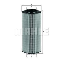 Воздушный фильтр (Mahle/Knecht) LX918