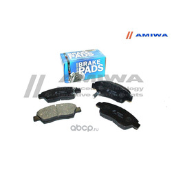 КОЛОДКИ ТОРМОЗНЫЕ ДИСКОВЫЕ ПЕРЕДНИЕ (Amiwa) CD5070