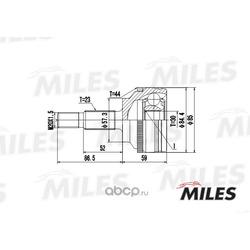 Шарнирный комплект RENAULT (Miles) GA20398