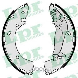 Комплект тормозных колодок (Lpr) 08670
