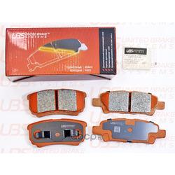 Колодки тормозные дисковые | зад | (UBS) B1107006