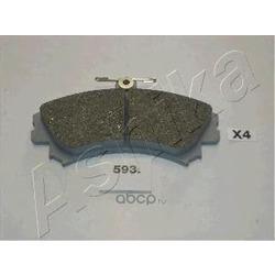 Комплект тормозных колодок, дисковый тормоз (Ashika) 5005593