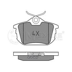 Комплект тормозных колодок, дисковый тормоз (Meyle) 0252186115