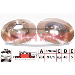 Тормозной диск (NAKAYAMA) Q4507