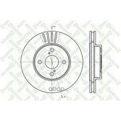 Тормозной диск (Stellox) 60204582VSX