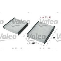 Фильтр, воздух во внутренном пространстве (Valeo) 715556
