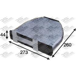 Фильтр салона угольный (JS Asakashi) AC0161C