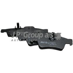 Комплект тормозных колодок, дисковый тормоз (JP Group) 1363701010