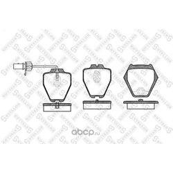 Комплект тормозных колодок (Stellox) 763002SX