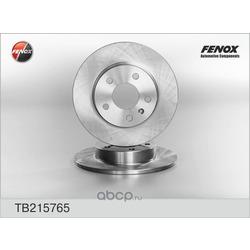 ДИСК ТОРМОЗНОЙ FENOX (FENOX) TB215765