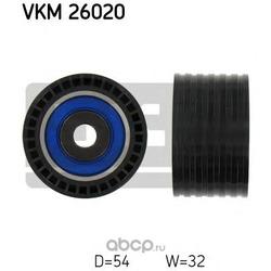 Паразитный / Ведущий ролик, зубчатый ремень (Skf) VKM26020