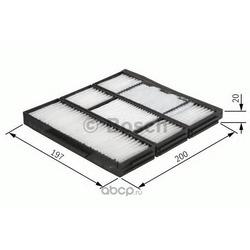 Фильтр, воздух во внутреннем пространстве (Bosch) 1987432155