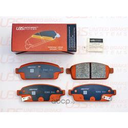Колодки тормозные дисковые | зад | (UBS) B1104012