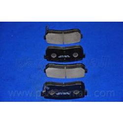 Комплект тормозных колодок (Parts-Mall) PKA037