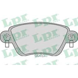 Комплект тормозных колодок, дисковый тормоз (Lpr) 05P897