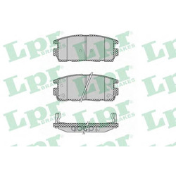 Комплект тормозных колодок, дисковый тормоз (Lpr) 05P1323