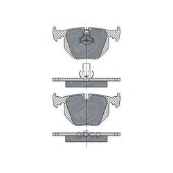 Колодки торм.RR (SCT) SP271