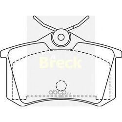 Комплект тормозных колодок, дисковый тормоз (BRECK) 209610070400