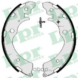 Комплект тормозных колодок (Lpr) 05690
