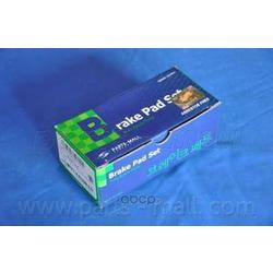 Комплект тормозных колодок (Parts-Mall) PKB037