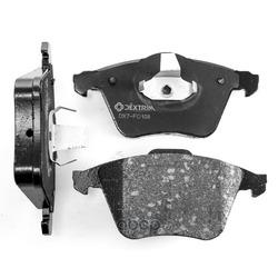 Колодки тормозные передние (Dextrim) DX7FD108