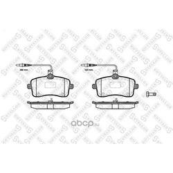 Комплект тормозных колодок (Stellox) 1113004SX