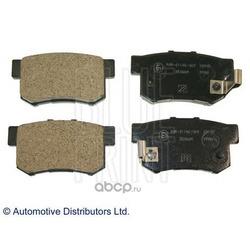 Колодки тормозные дисковые задние, комплект (Blue Print) ADH24247