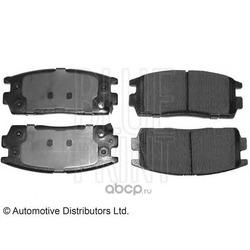 Комплект тормозных колодок, дисковый тормоз (Blue Print) ADG04281