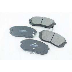 Дисковые тормозные колодки (Friction Master) MKD1295