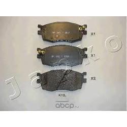 Комплект тормозных колодок, дисковый тормоз (JAPKO) 50K12