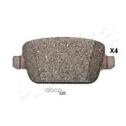 Комплект тормозных колодок, дисковый тормоз (Ashika) 510LL03