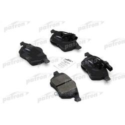 Колодки тормозные дисковые передние (PATRON) PBP1717
