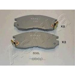 Комплект тормозных колодок, дисковый тормоз (Ashika) 5005530