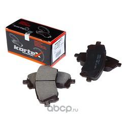 Колодки тормозные передние (KORTEX) KT1362S