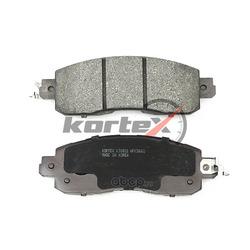 Колодки тормозные дисковые задние компле (KORTEX) KT0051