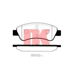 Колодки тормозные дисковые, комплект (Nk) 223741