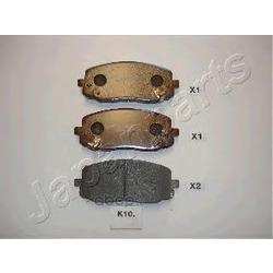 Колодки тормозные передние (Hyundai-KIA) 5810107A20