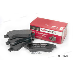 Тормозные колодки дисковые передние (Ween) 1511320