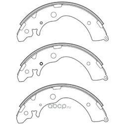 Колодки тормозные барабанные (FIT) FT0627