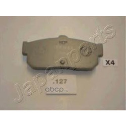 Комплект тормозных колодок, дисковый тормоз (Japanparts) PP127AF