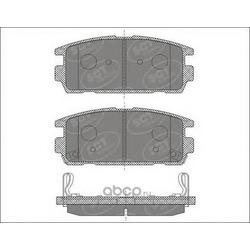 Колодки торм.RR (SCT) SP636